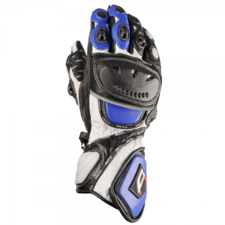 Akito Sport Max Motorcycle Gloves - Blue