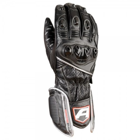 Akito Sports Rider Motorcycle Gloves - Silver