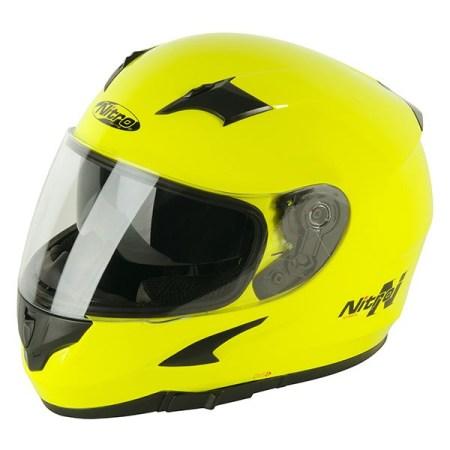 Nitro N2300 Rift Uno Motorcycle Helmet - Yellow