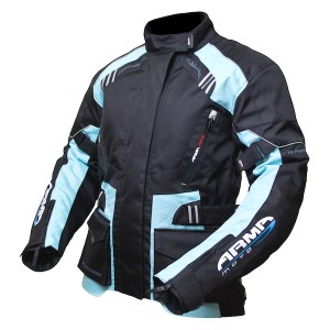 Armr Moto Ladies Kiso 2 motorcycle jacket Blue
