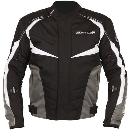 Buffalo Blitz Motorcycle Jacket - Black