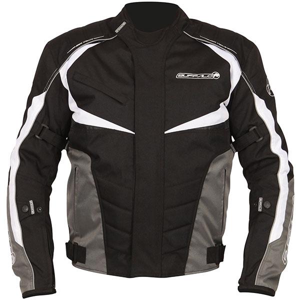2ba80a710 Buffalo Blitz Motorcycle Jacket Black, Waterproof, Textile, Winter - PB