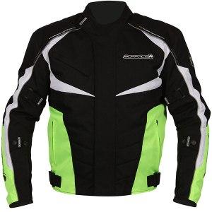 Buffalo Blitz Motorcycle Jacket Neon Yellow