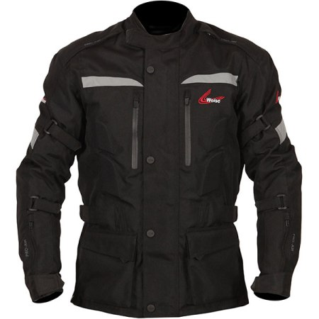 Weise Munich Motorcycle Jacket - Black