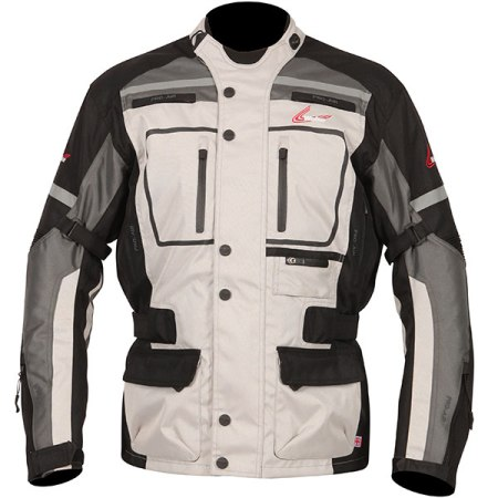 Weise Stuttgart Motorcycle Jacket - Stone