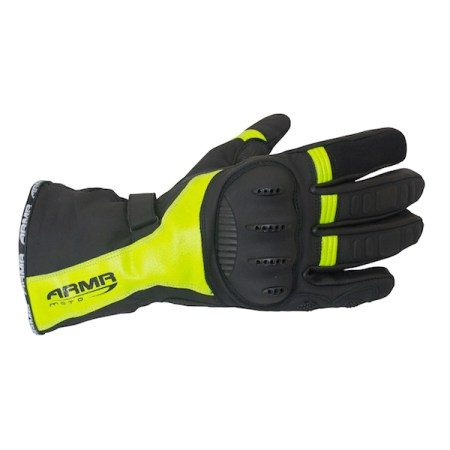 Armr Moto WPL250 Motorcycle Gloves - Yellow