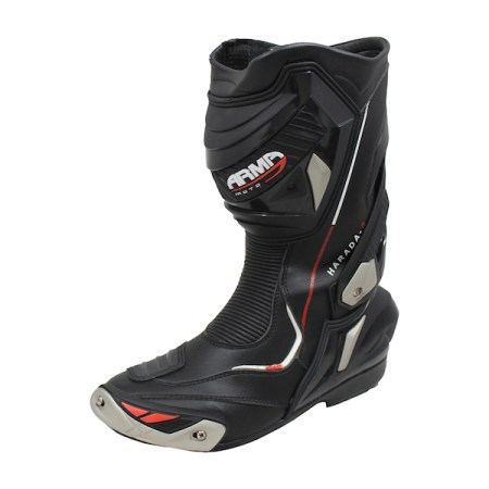 Armr Moto Harada R Motorcycle Boots - Black