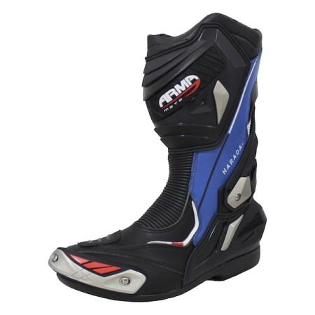 Armr Moto Harada R Motorcycle Boots - Blue