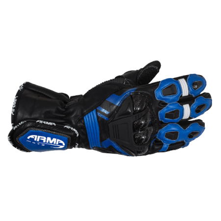 Armr Moto S870 Motorcycle Gloves Blue
