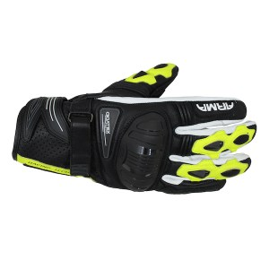 Armr Moto S880 Motorcycle Gloves Yellow