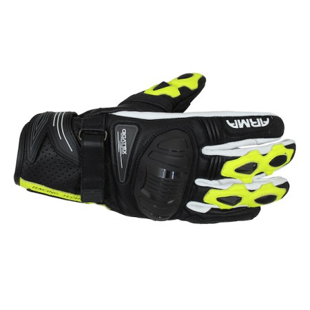 Armr Moto S880 Motorcycle Gloves - Yellow