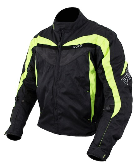 Dojo Miura Motorcycle Jacket Yellow