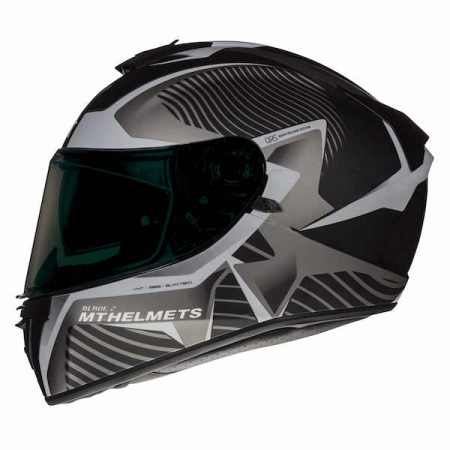MT Blade 2 SV Blaster Motorcycle Helmet - Grey