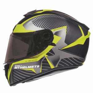 MT Blade 2 SV Blaster Motorcycle Helmet Yellow