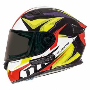 MT KRE SV Lookout Motorcycle Helmet Yellow