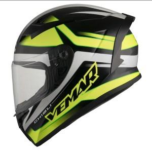 Vemar Ghibli Base Motorcycle Helmet Yellow