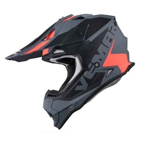 Vemar Taku Blade Motocross Helmet - Matt Grey