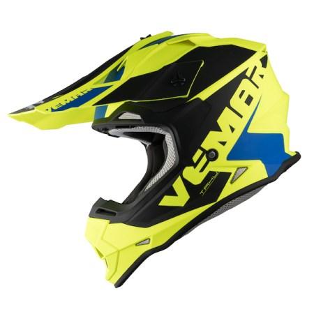 Vemar Taku Blade Motocross Helmet - Matt Yellow