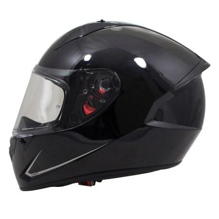 MT Stinger Motorcycle Helmet - Gloss Black