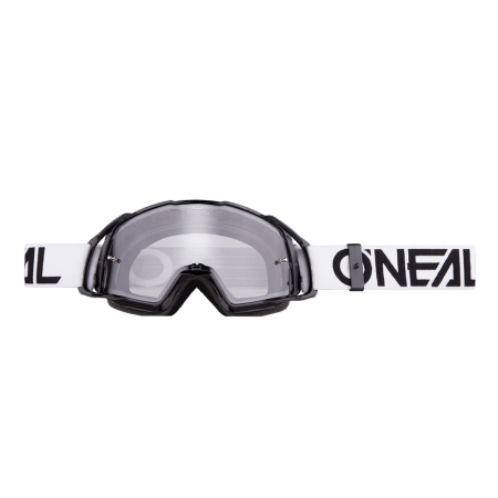 B-20 Goggle FLAT black/white - clear