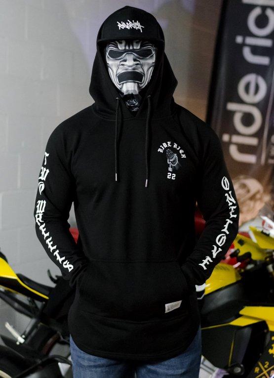 Ride Rich Trust No Other Scoop Motorcycle Hoodie