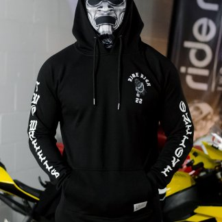 Ride Rich Trust No Other Scoop Motorcycle Hoodie