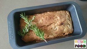 Pear Sultana Rosemary Cake by Play with Food