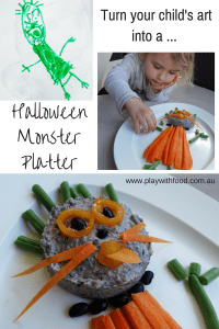 Halloween Monster Vegetable Platter | Play with Food