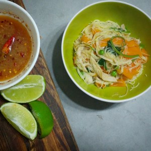 Vietnamese Chicken and Noodles