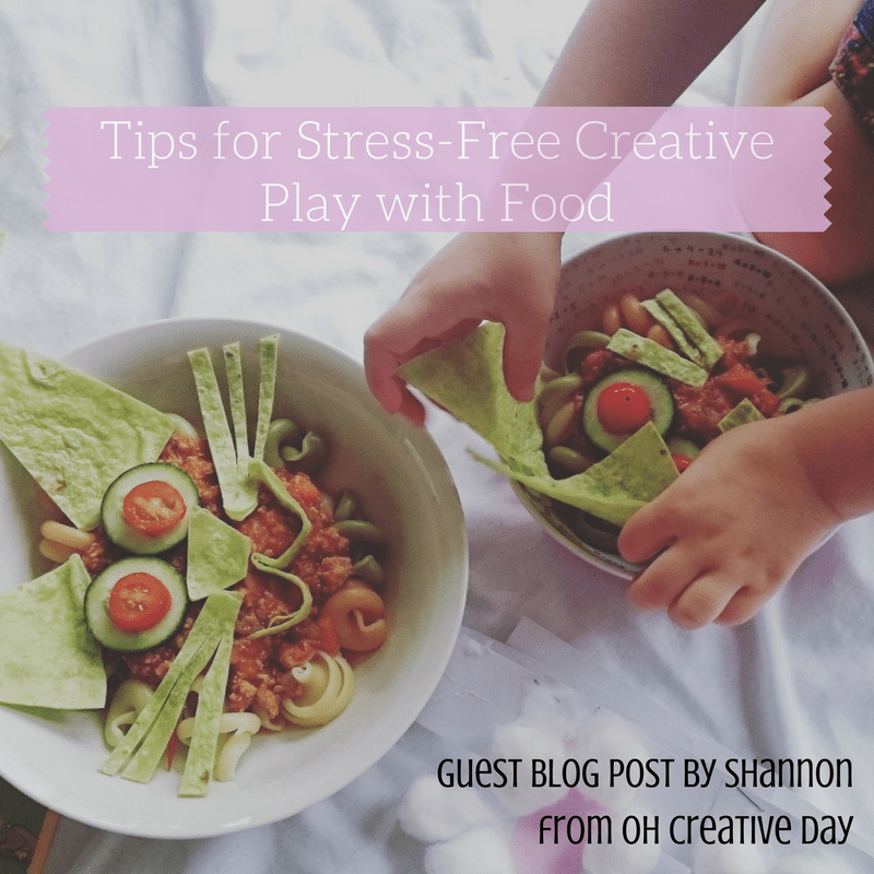 Tips for Stress-Free Creative Play with Food