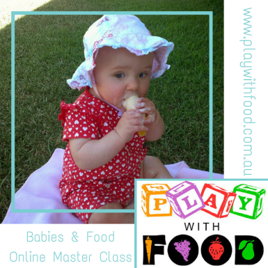 Babies and Food Online Program | Starting and Continuing Solids with Simone Emery | Play with Food