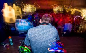 DJ at Gender Blender 2016