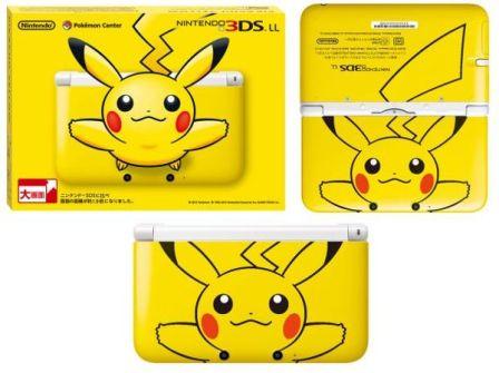 3DS édition pikachu