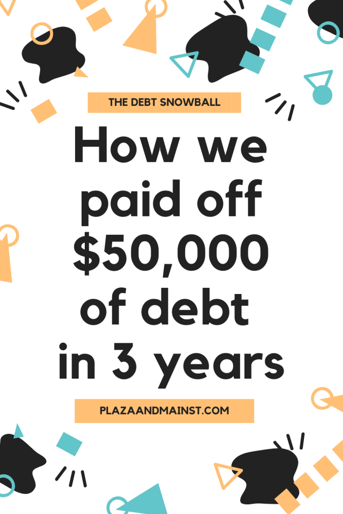 debt snowball pay down debt