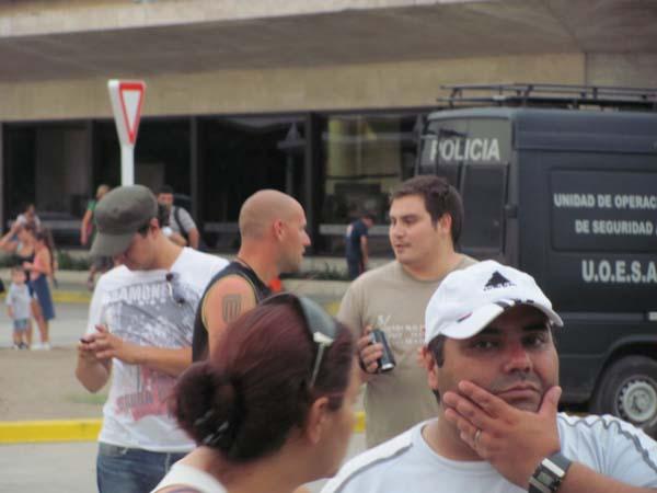 Los trabajadores detectaron a los infiltrados con cámaras