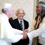 El Papa Francisco recibió a Félix Díaz