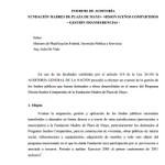 Informe de la AGN sobre Sueños Compartidos