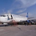 Chile remata un avión de Aerolíneas Argentinas que quedó varado