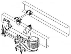 Peterbilt Air Trac Suspension