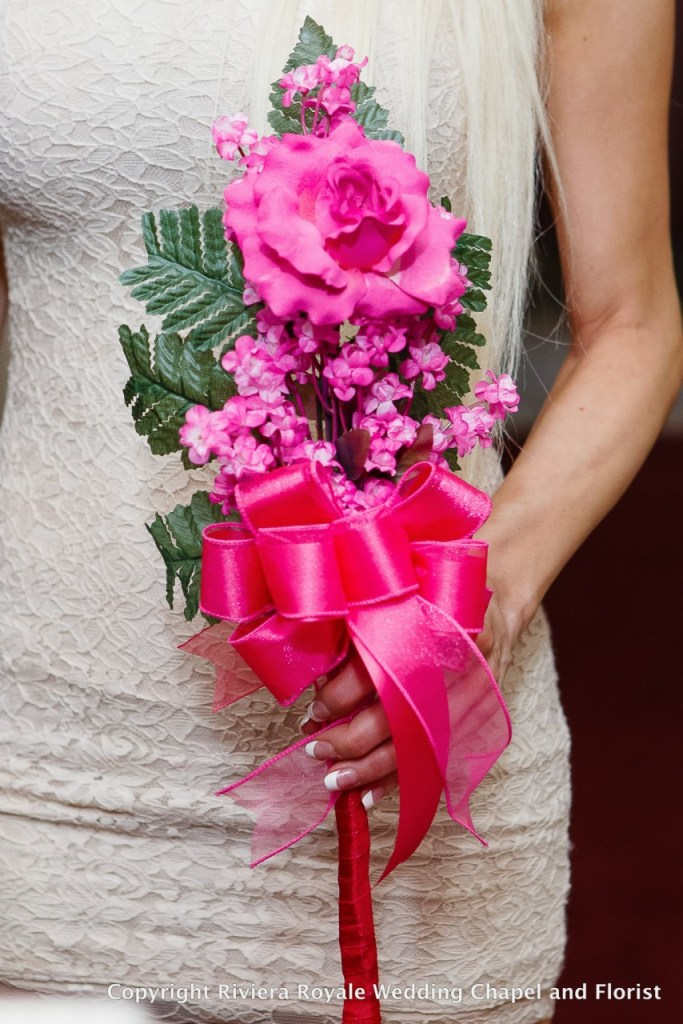 pink small flower pattern for wedding