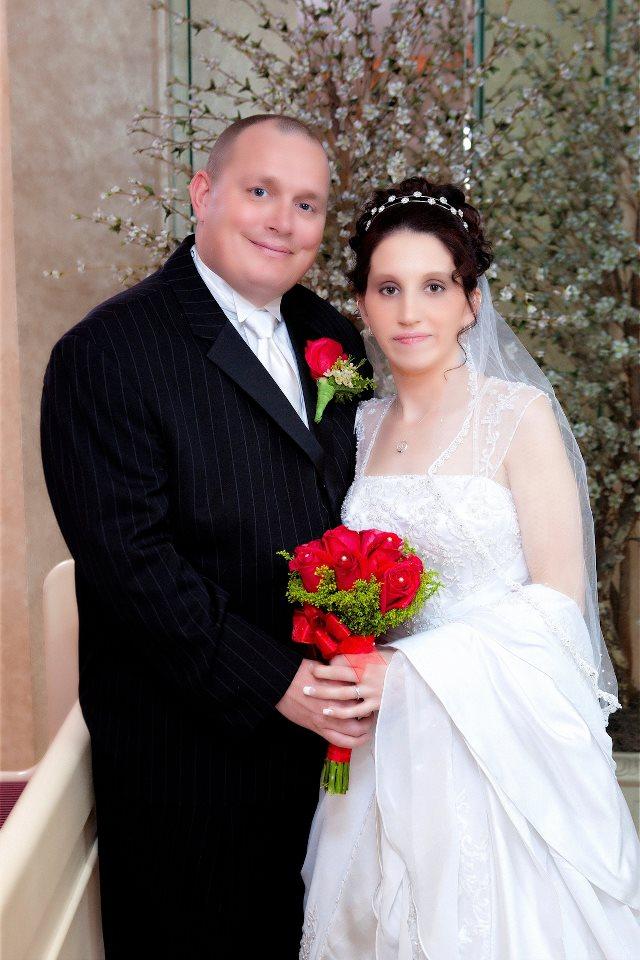 wedding suits & bride dress