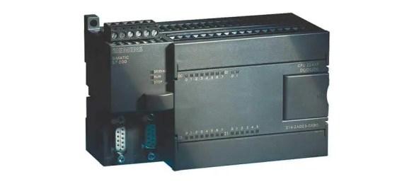 Siemens S7-200 CPU224XP module.