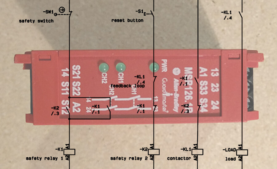 Solenoid Wiring Diagram Further Pilz Safety Relay Wiring Diagram