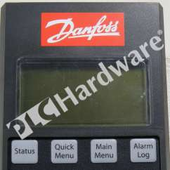 Danfoss Soft Starter Wiring Diagram Domestic Electricity New 175g0096 Mcd Control Panel Lcp 501 For 500