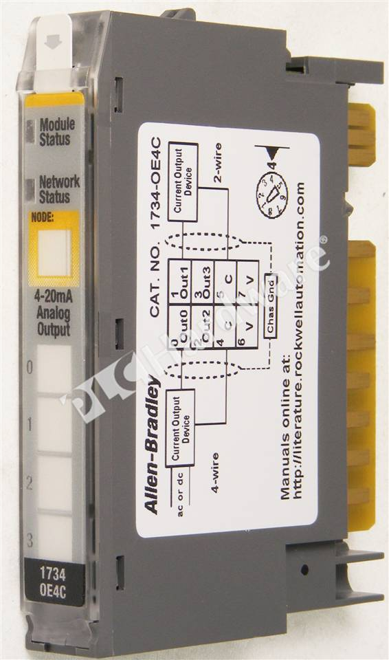 4 channel wiring diagram allen bradley safety diagrams plc hardware - 1734-oe4c series c, new surplus open