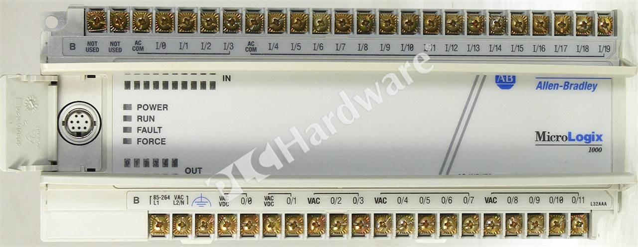 Micrologix 1000 Analog Plc