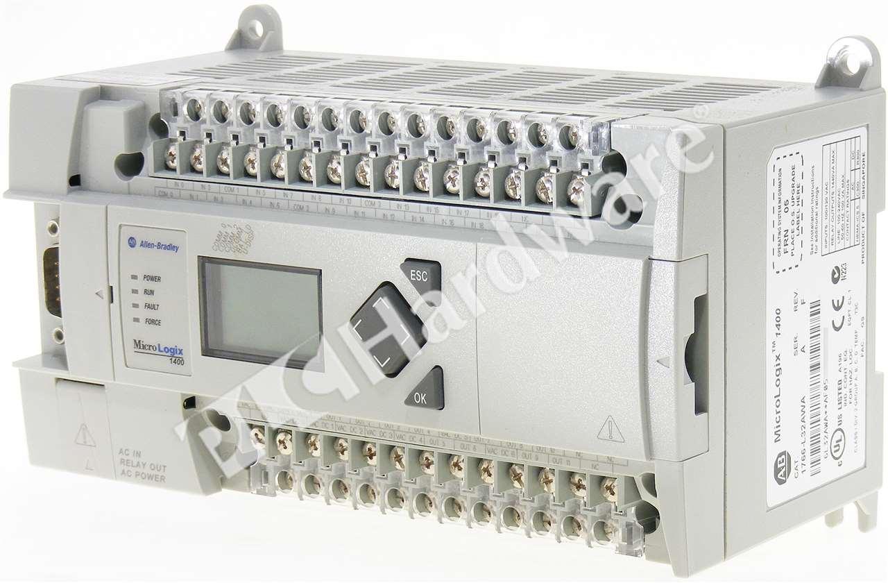 ab micrologix 1400 wiring diagram for 2004 jeep grand cherokee windows allen bradley 1766 l32awa a plc 110 240v