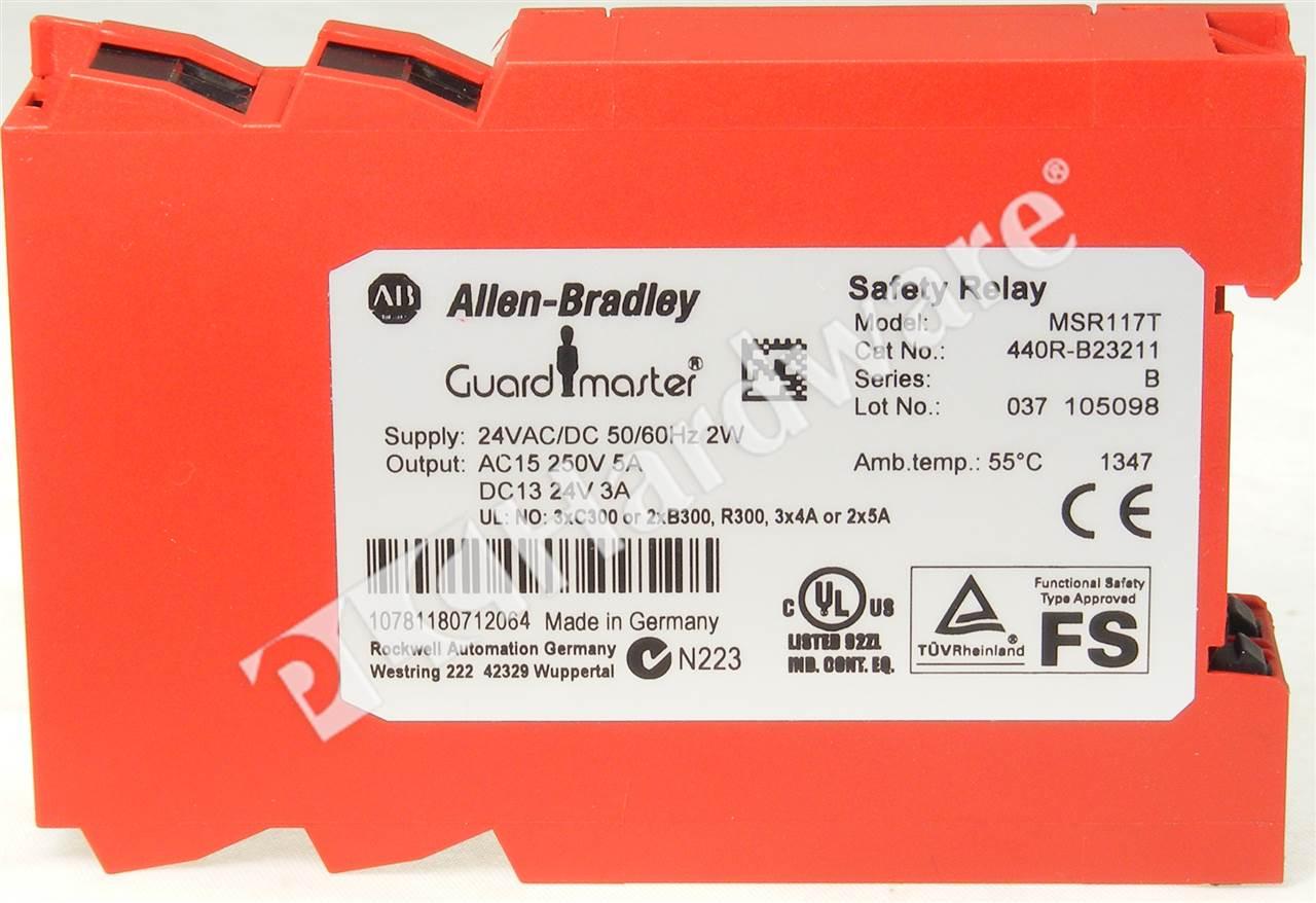 allen bradley safety wiring diagrams super strat diagram plc hardware 440r b23211 relay