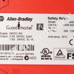 Allen Bradley Safety Contactor Wiring Diagram 1993 Volvo 940 440r M23203 A Monitoring Relay