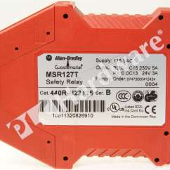 Allen Bradley Safety Contactor Wiring Diagram 1998 Dodge Dakota Headlight 440r N23125 B Relay Msr127tp